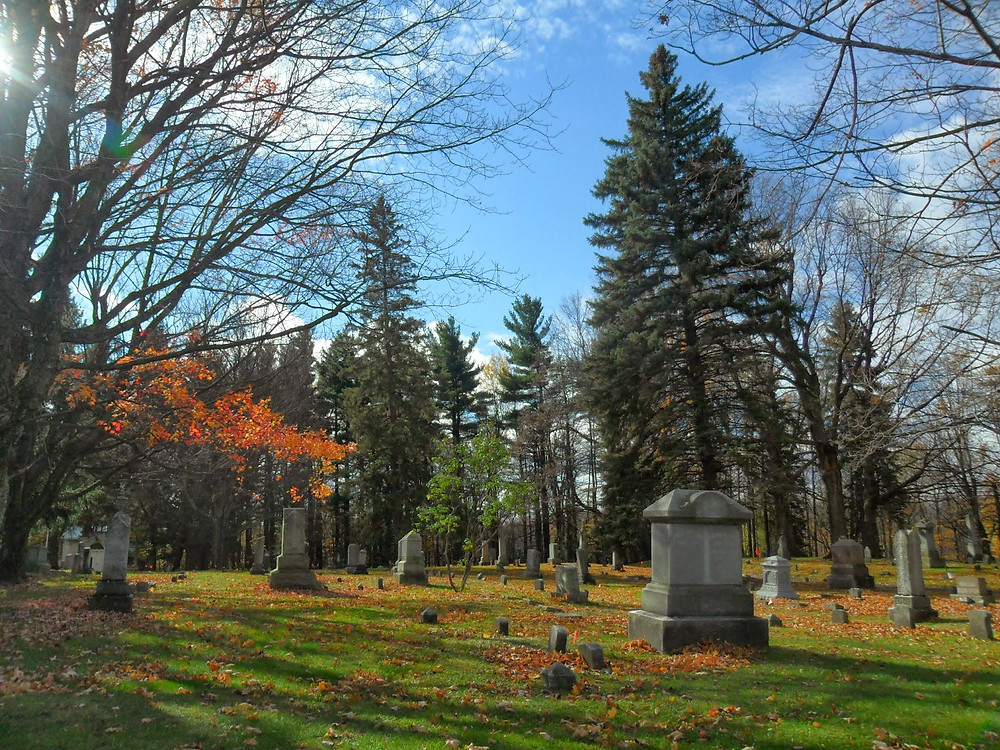 Autumn Cemetery, New York State