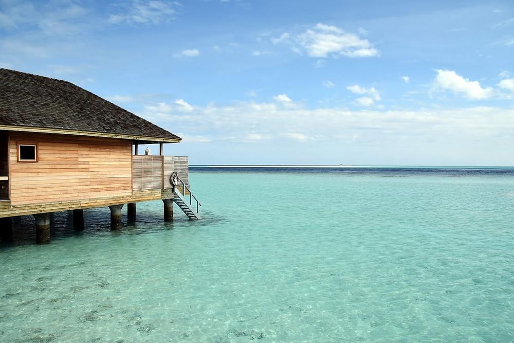 Over-Water Bungalow at Hurawalhi Maldives