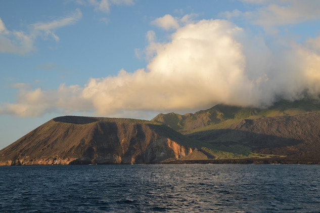 Sailing around Galapagos