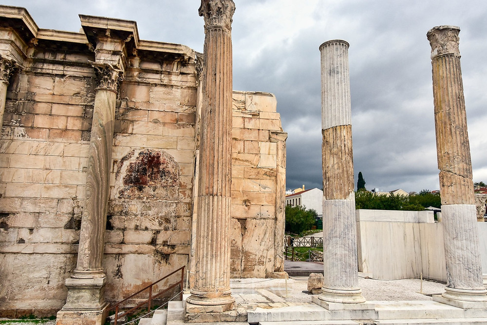 Hadrian's Library, Athens, Greece