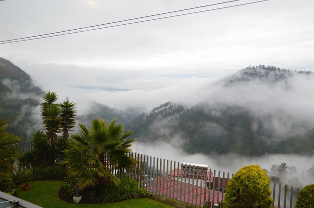 View from Hotel, Quito, Ecuador