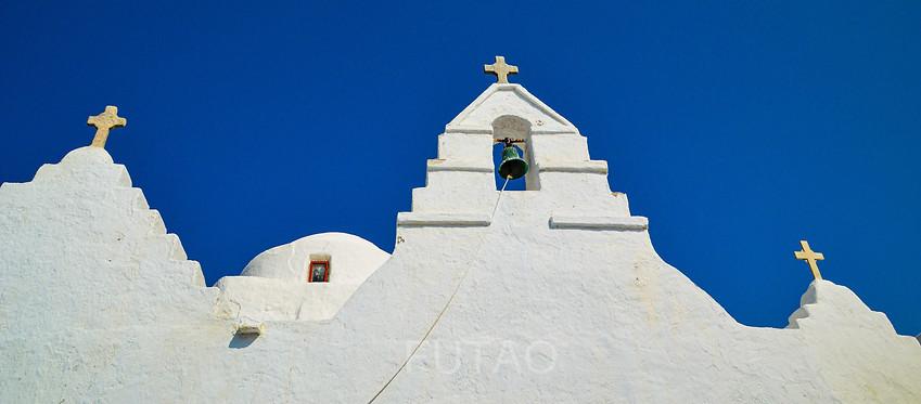 Church, Mykonos, Greece