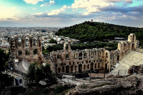 Odeon Herodes of Atticus Theater, Athens, Greece
