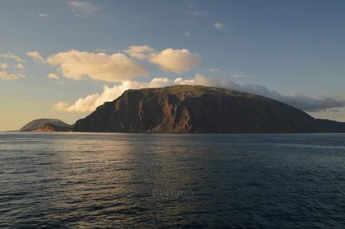 Sailing around Galapagos