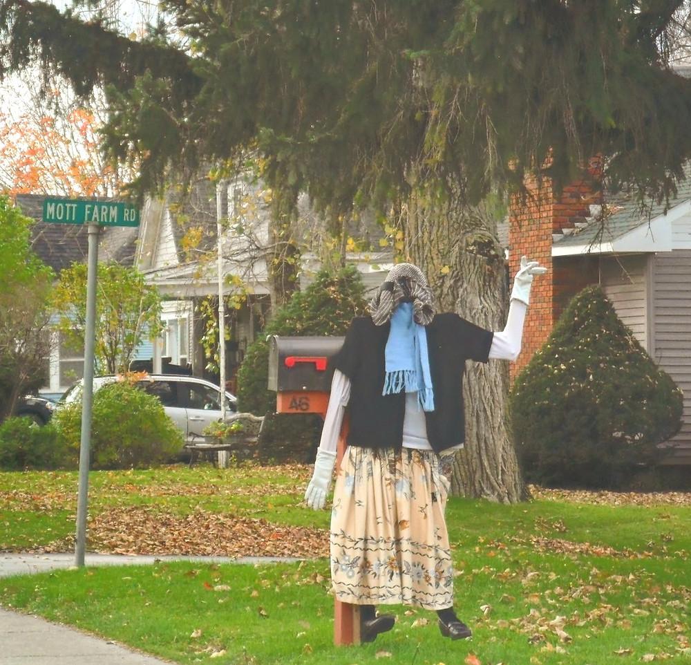 Creepy Neighbourhood Scarecrow, New York State