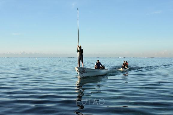 Sailors in Mauritius