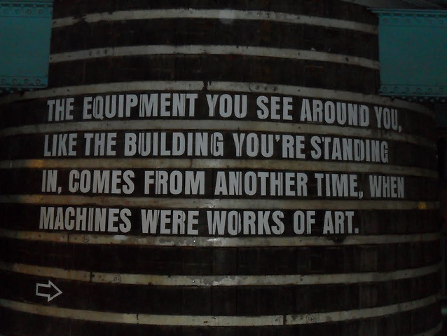 Saying inside The Guiness Factory