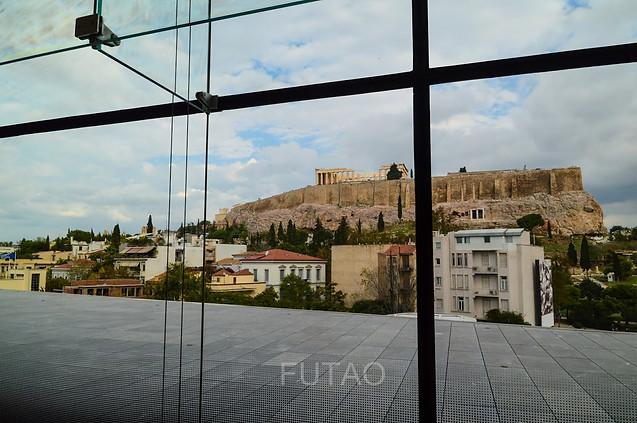 Inside the Acropolis Museum, Athens, Greece