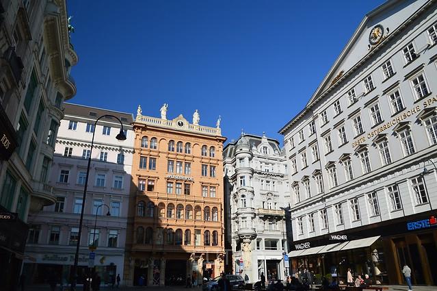 The streets of Vienna, Austria