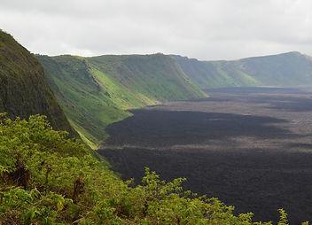 Sierra Negra Volcano in Galapagos