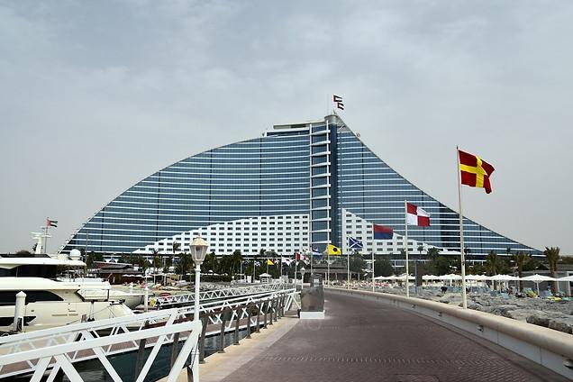 Jumeriah Beach Hotel, Dubai