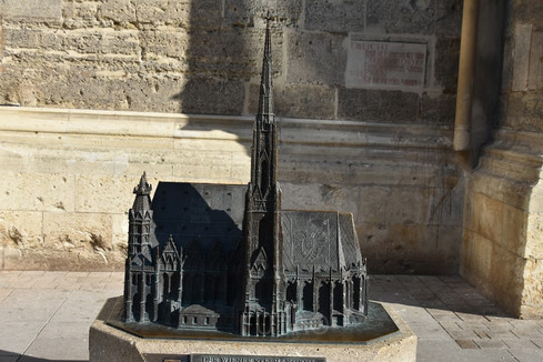 Model of St. Stephen's Cathedral, Vienna, Austria