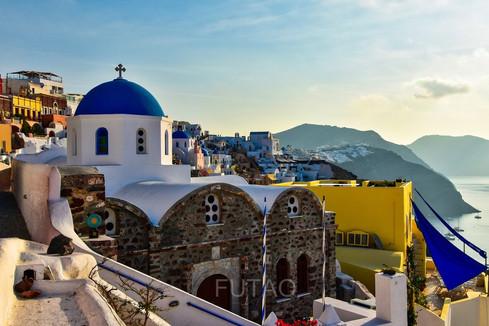 Church Agios Nikolaos, Oia, Santorini, Greece