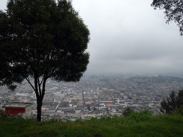 Panoramic View, Quito, Ecuador