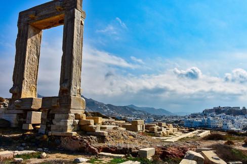 The Temple of Apollo, Naxos, Greece