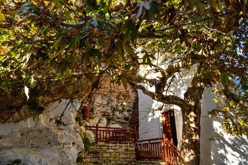 The Village of Apeiranthos, Naxos, Greece