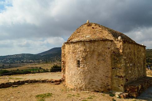 Orthodox Church near the Temple of Demeter, Naxos, Greece