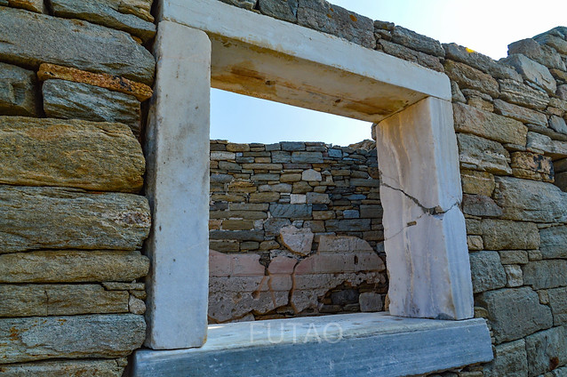 The House of Trident, Delos, Greece