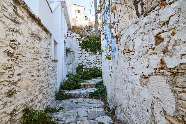 The village of Chalki, Naxos, Greece