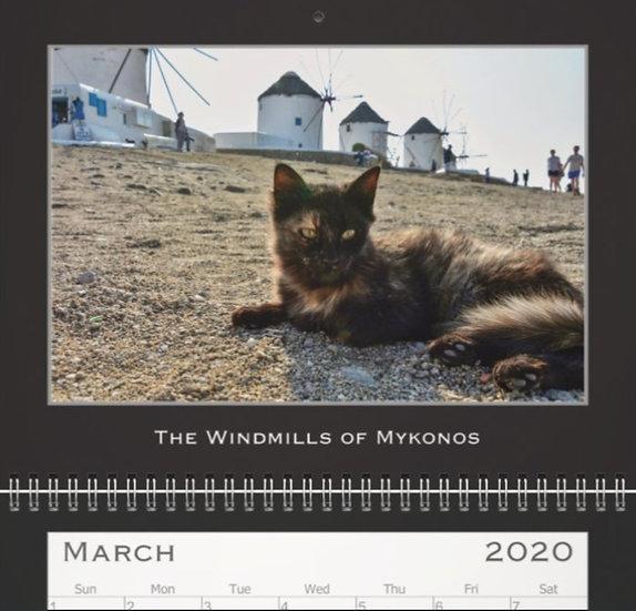 The Cats of Greece (Standard) Calendar 2021