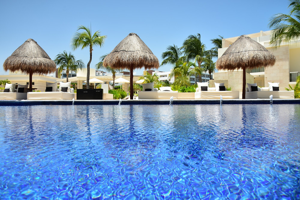 The beautiful Beloved Playa Mujeres resort, Cancun, Mexico