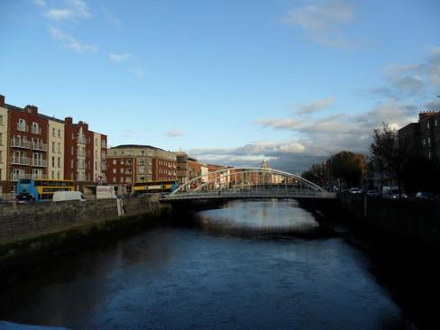 Ha Penny Bridge, Dublin, Ireland