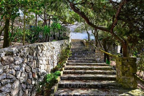 Near the Monastery of Profitis Ilias, Santorini, Greece