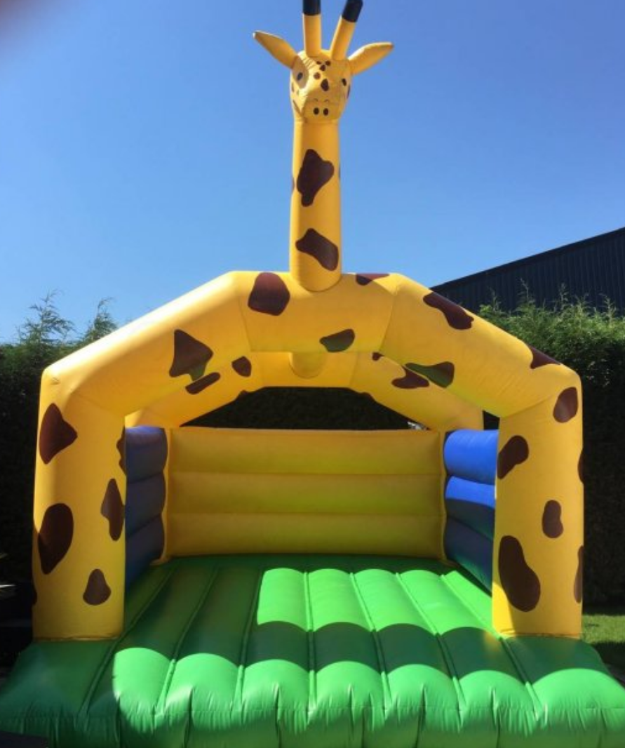 springkasteel giraf
