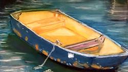 Balboa Island Dingy 9x12