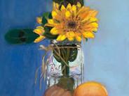 Sunflowers in a Mason Jar