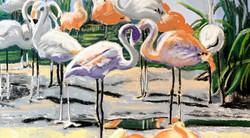 Flamingo slider