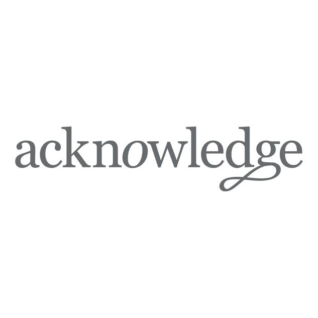 Acknowledge Wordmark