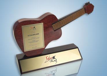 Guitar Wooden Award