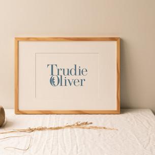 Trudie Oliver Branding Design