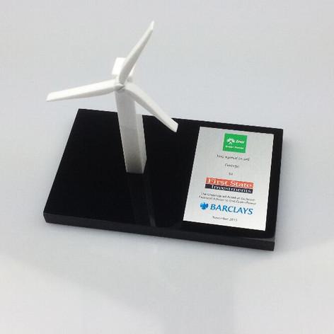 Spinning Wind Turbine Award