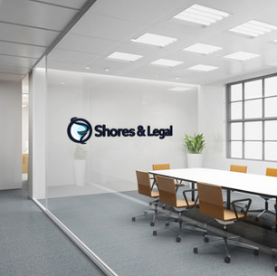 Shores & Legal-Office Sign