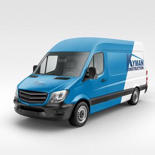Kyman Construction Van Design