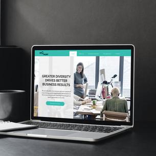 Get2Talent Branding on Website