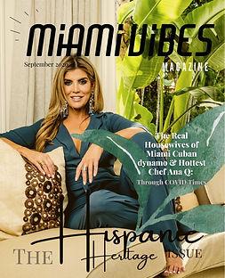 Miami Vibes Magazine, Ana Quincoces