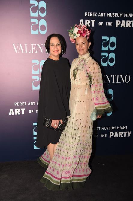 Dale & Erin Newberg Wearing Valentino -