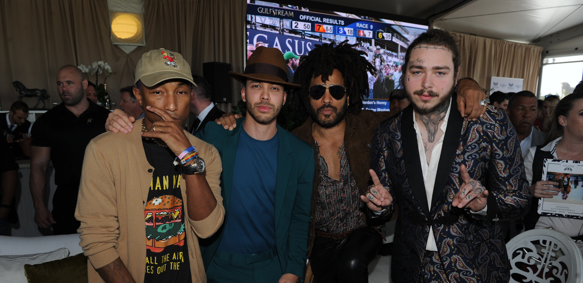 Pharrell Williams, Prince Royce, Lenny K