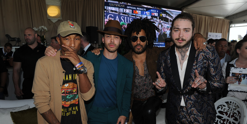 Pharrell Williams, Prince Royce, Lenny K
