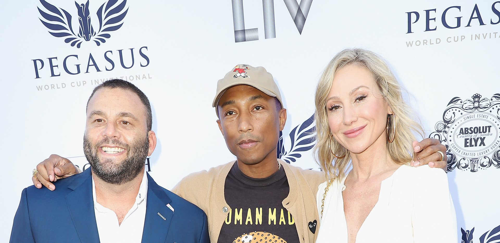David Grutman, Pharrell Williams and Bel