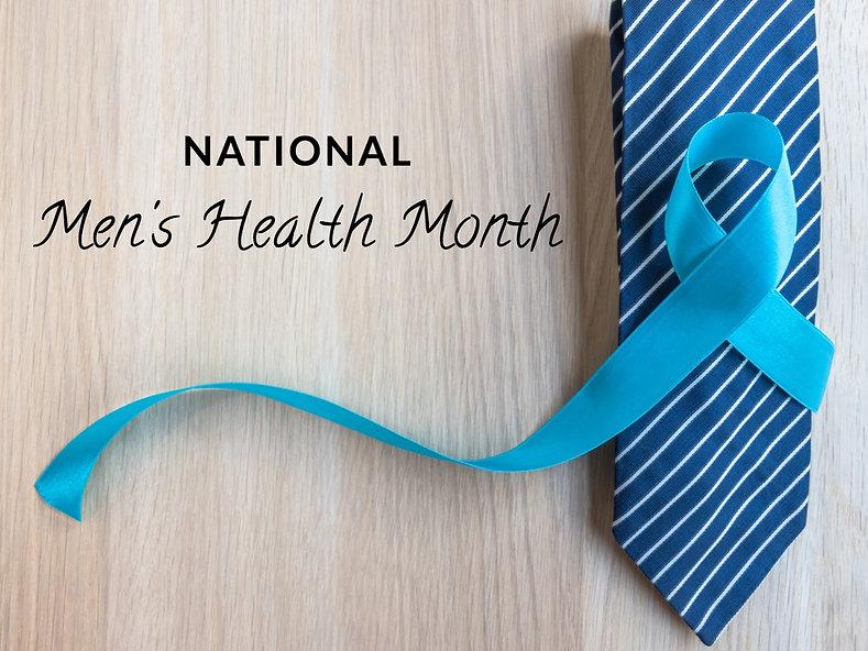 National Men's Health Awareness Month 2021