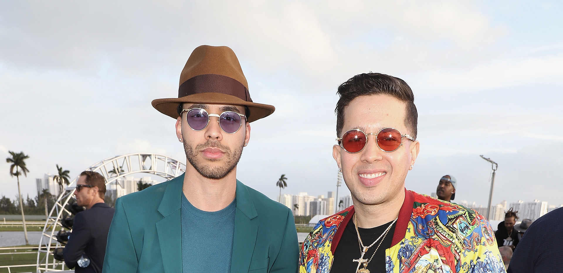 Prince Royce and De La Ghetto at the $16