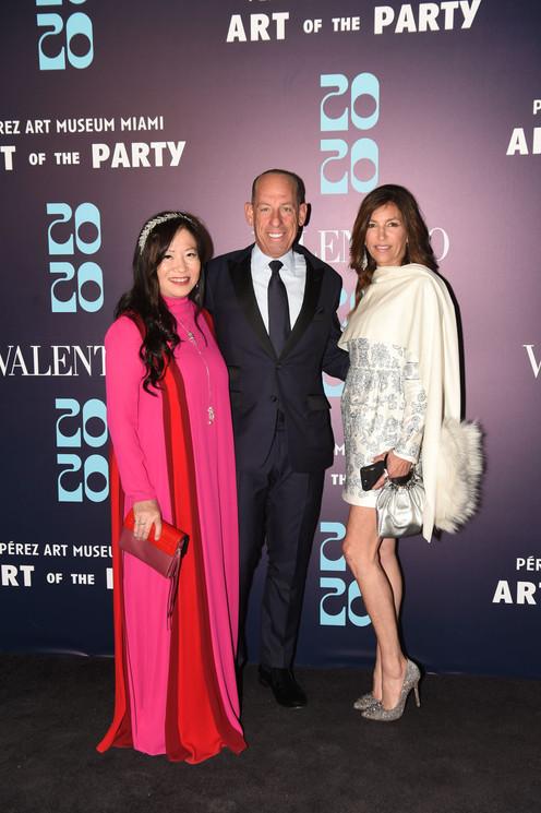 Mei Yu, Wayne Chaplin, & Arlene Chaplin