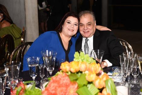 Ana Navarro & Lee Brian Schrager - Photo