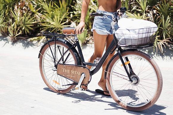 bike ride, the Setai, Miami Vibes Magazine, Miami, Miami Beach, ocean, suites, hotel, relax, wellness, selfcare