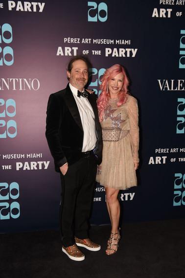 Adam & Alexa Wolman Wearing Valentino -