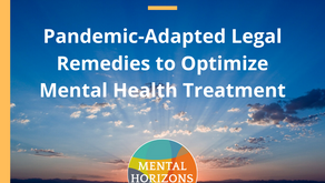 Season 3 Episode 2 of Mental Horizons Podcast: Pandemic-Adapted Legal Remedies